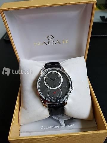 sehr schöne Uhr mit klassischem Design - Nacar