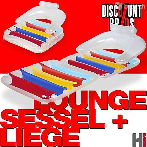 Bestway SESSEL-LUFTMATRATZE Pool Lounge Sitz + Liege