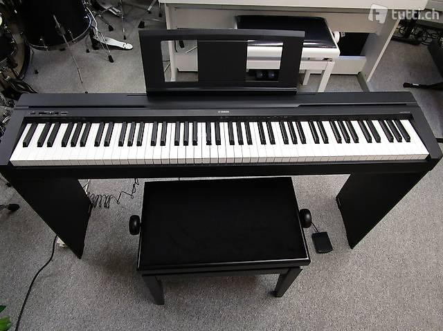 DIGITAL-E-PIANO YAMAHA NEU, JETZT ab LAGER SOFORT LIEFERBAR!