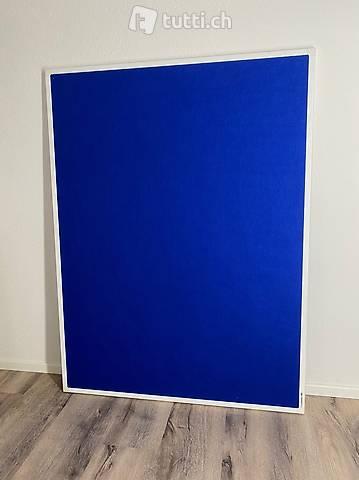 Legamaster Pinnwand 90cm x 120cm - Marineblau