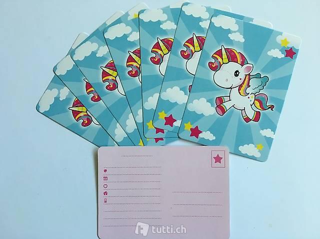 Einhorn Regenbogen Einladungskarten Geburtstagsfest