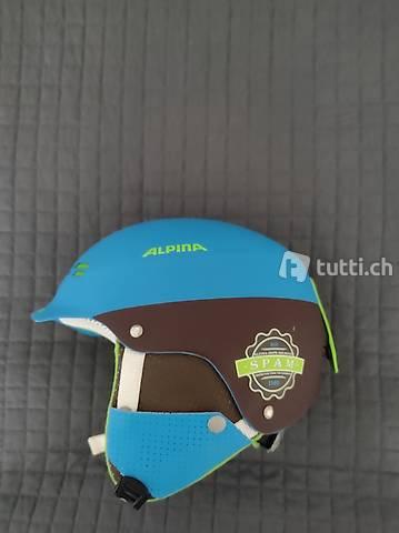 alpina ski snowboard helm spam cap