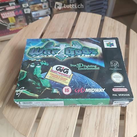 N64 War Gods Sealed