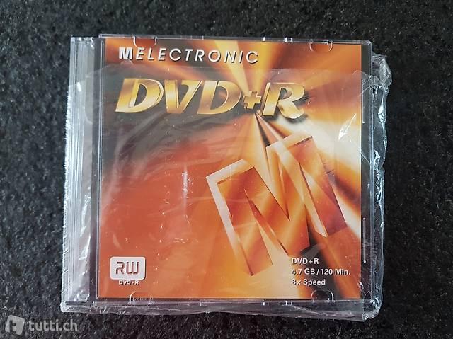 3 DVD+R Rohlinge mit Hülle (neu und ungebraucht)