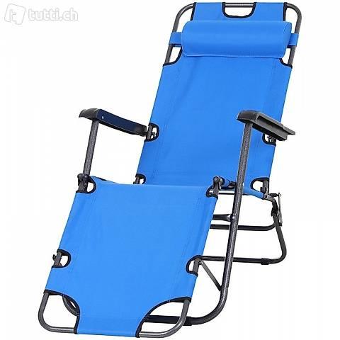 Sedia a sdraio sedia da giardino alta (Consegna gratuita)