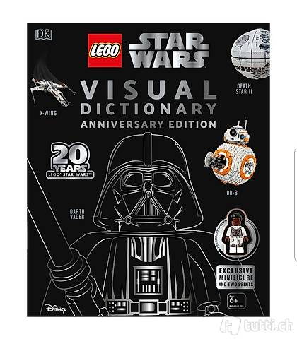 Exklusives,signiertes Buch: LEGO Star Wars Visual Dictionary