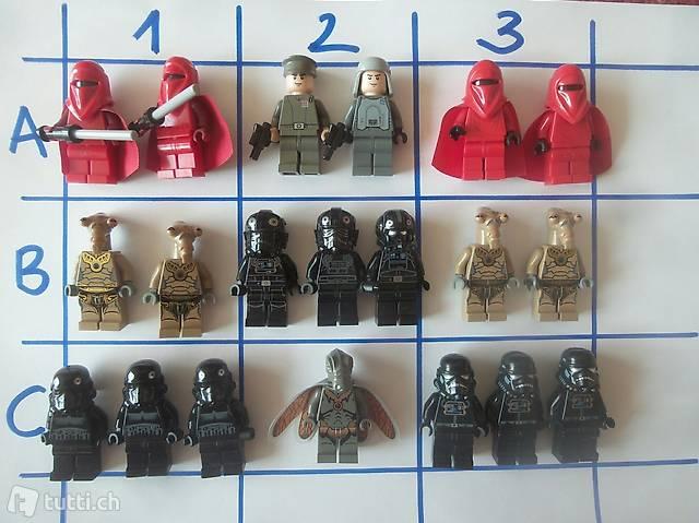 Lego Star Wars Figuren 08 einzeln
