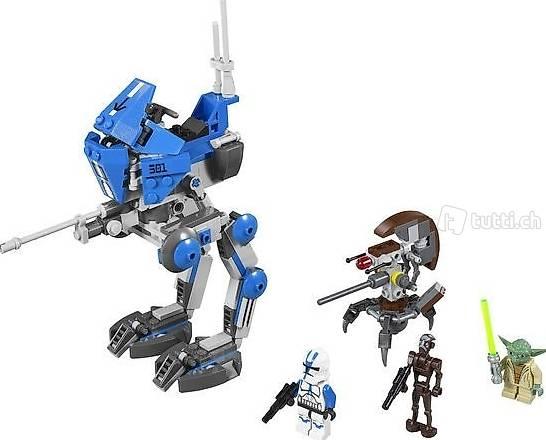 Lego Star Wars 75002 AT-RT, 501st Legion, Yoda