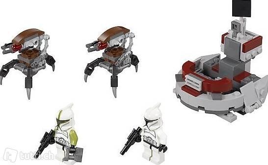 Lego Star Wars 75000 Clone Troopers vs Droidekas