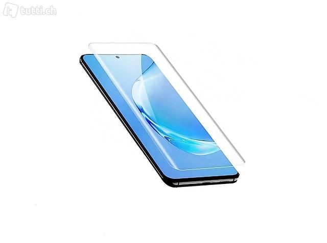 "1x Folie Schutzfolie Galaxy S6 S7 S8 S9 S10 S20 ""Curved"""