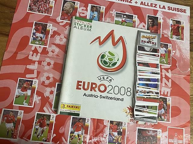 Panini Official Sticker Album Euro 2008