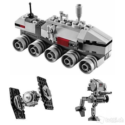 Lego Star Wars - Wenig Platz? 3 Mini-Modelle