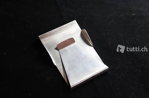 Portofrei Metal Geldklammer Geldspange karte clip in Zurich