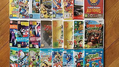 Nintendo Wii / Wii U Konsole, Spiele, Controller und Zubehör